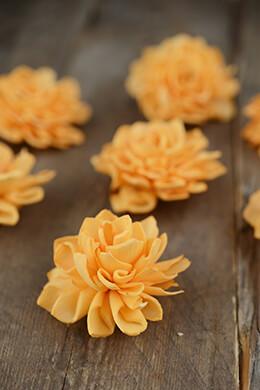 Sola Flowers Dahlia Orange (Pack of 9)
