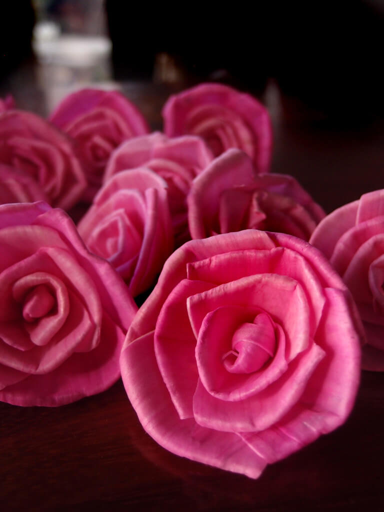 Sola Flowers, Pink Sola Roses, 15 Flowers