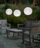 "Allsop Soji� Illume - White 14"" Solar Lantern"
