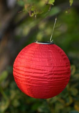 Allsop Soji� Solar Lantern - Red