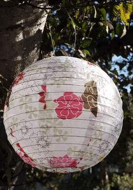 Solar Lanterns Soji Lantern Limited Edition - Floral Bloom