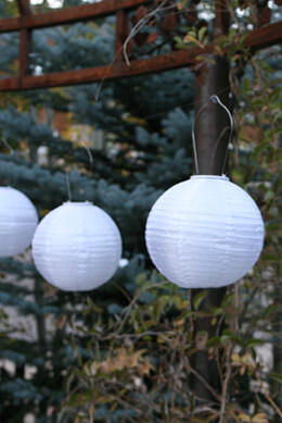 Allsop Soji� Solar Lantern - White