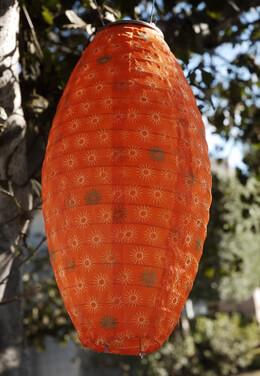 Solar Lantern Orange
