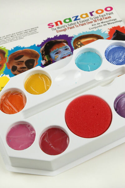 Sparkle Pallet Snazaroo Face Painting Pallet