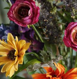 Spring Colors Silk Bouquet