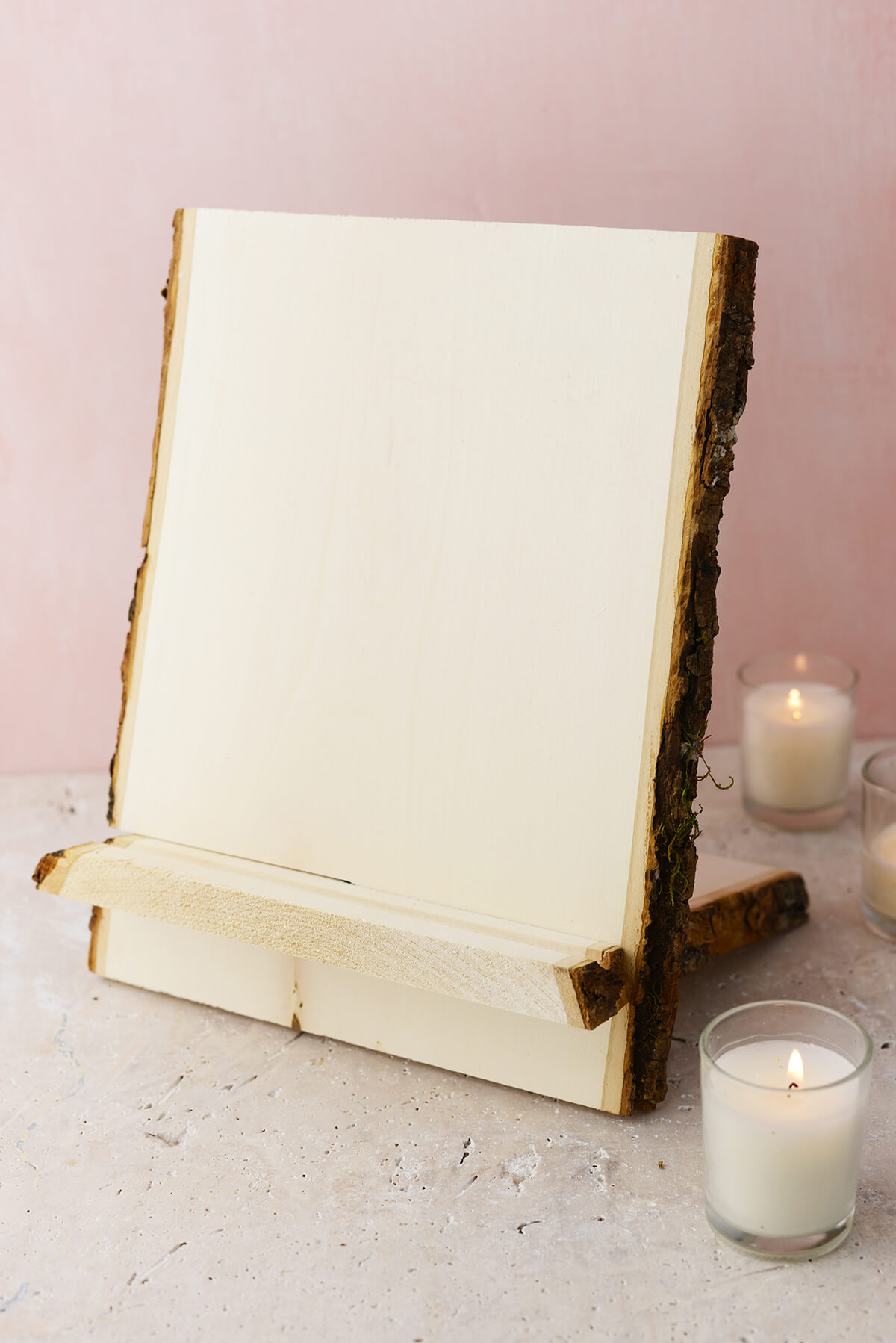 Bark Edge Easel and Tablet Stand