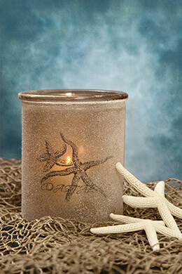 Starfish Candle Holder 5.7in