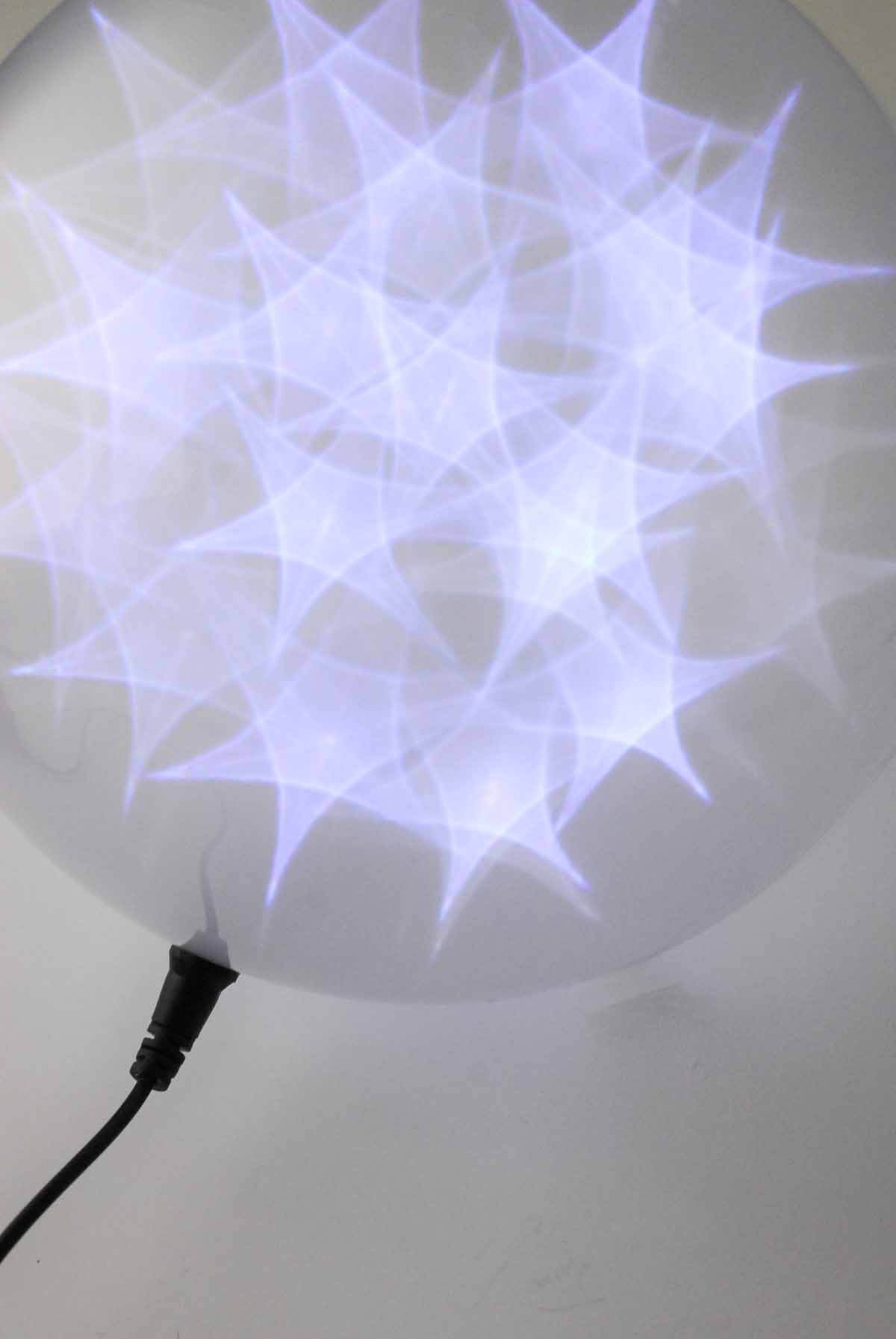 StarSphere Orb 8in Lighted Sphere, LED Ball, Battery Operated