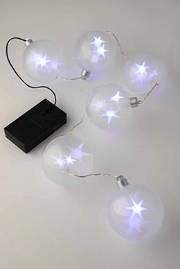 StarSphere LED Battery Operated String Lights 2.75ft