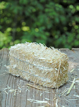 "Natural 5"" Straw Bale"
