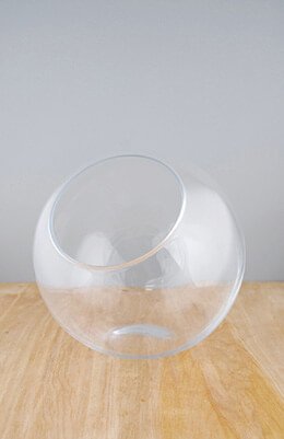 Studio Glass Vase 10in
