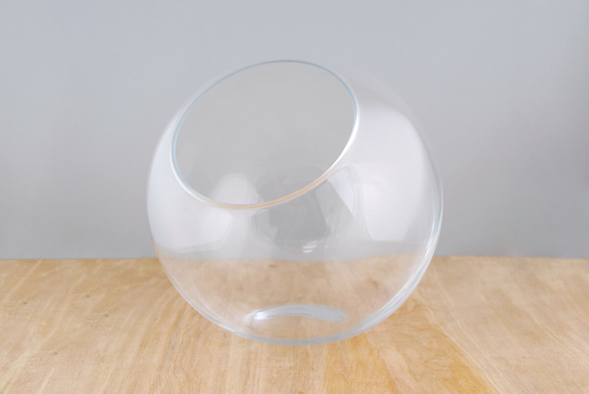 Studio Glass 10.5 x 10 Glass Orb Bowl