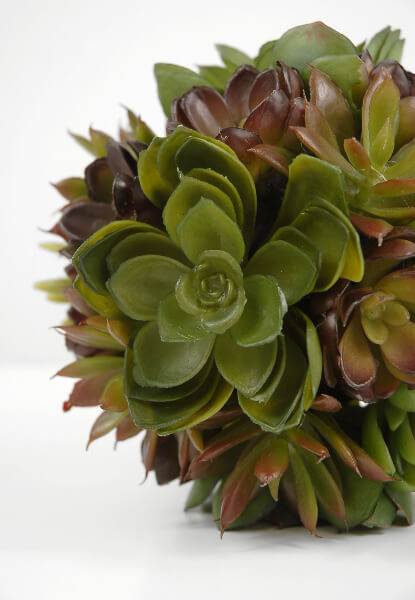 Artificial Succulent Ball 6in