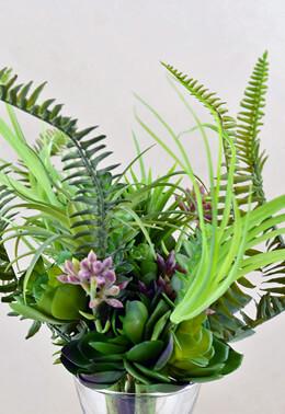 Succulent Garden Bouquet 11in