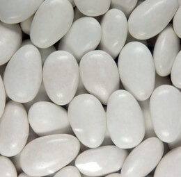Sugar Free Jordan Almonds  White 5lbs
