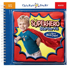 Superhero Starter Kit with cape (Ages 4+)