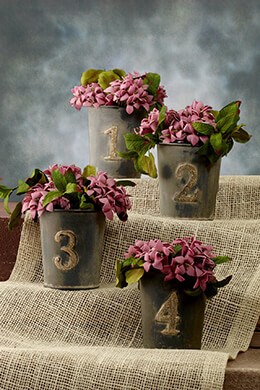 Table Number Buckets 1-4