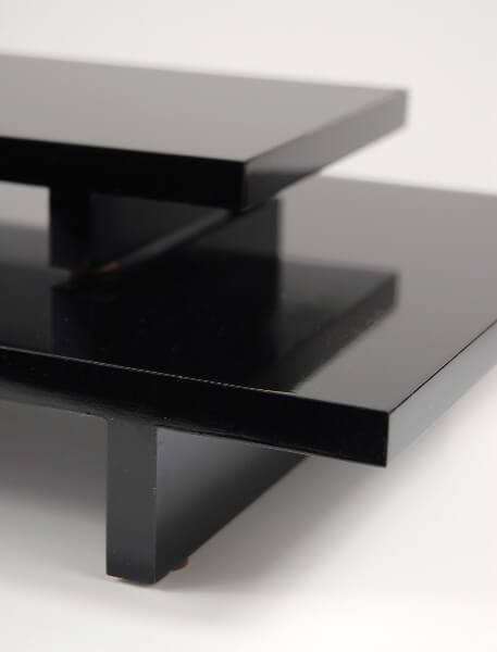Table Risers Black | Set of 2