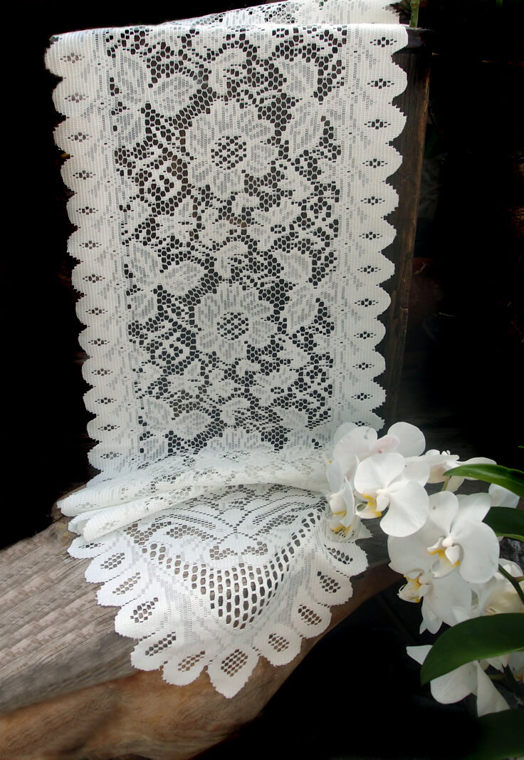 Lace Table Runners Ivory 13 Quot X 120in