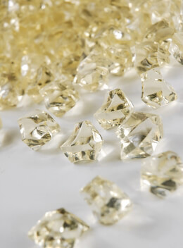 Table Scatter Gems Champagne|.75 lbs