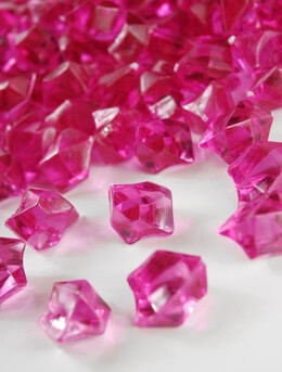Table Scatter Gems Pink | .75 lbs