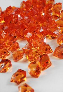 Table Scatter Gems Orange | .75 lbs