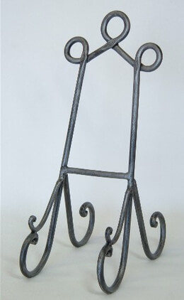 Table Easel Pewter 14.5in