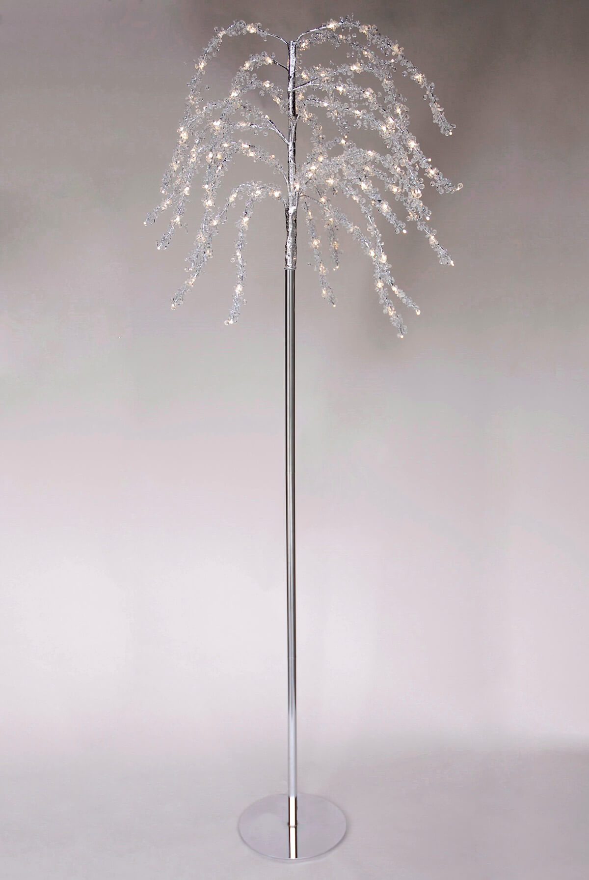 Crystal Trees 7.5FT LED Lights, Event Decor