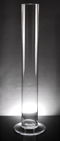 Glass Cylinder Vase 29.5in