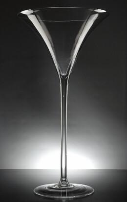 Tall Martini Glass Vase