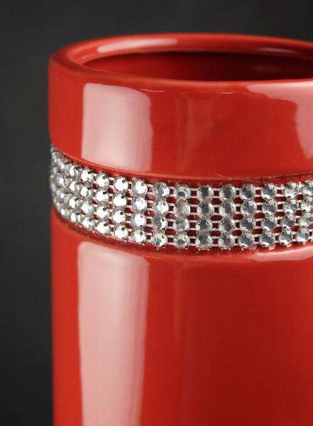 "Tall Vases Red Diamond Tiara 20"" Ceramic Vases"