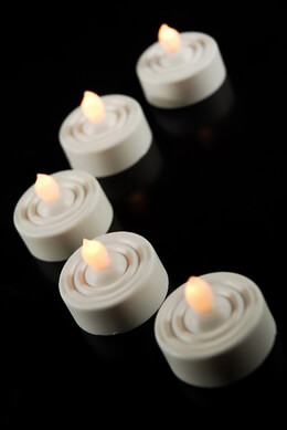 20 Battery Operated Tea Light Candles