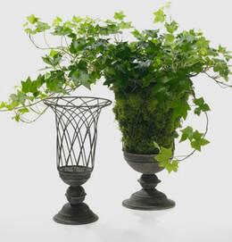 Wire Garden Urn