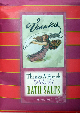 Thanks a Bunch Pikaki Scented Packaged Bath Salts