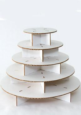 The Original Cupcake Tree - Mini Round ( up to 100 cupcakes)  Cupcake Stand