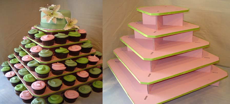 The Original Cupcake Tree- Square (holds up to 100 cupcakes)