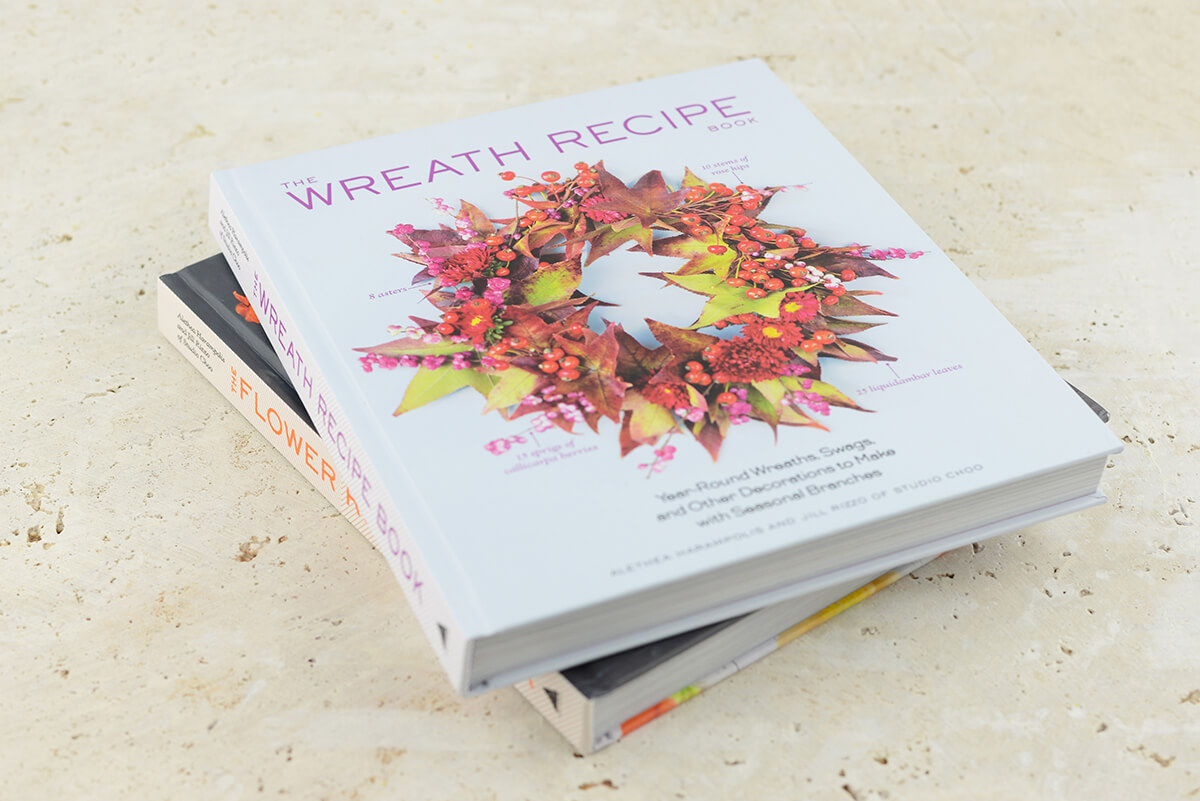 The Wreath Recipe Book by Alethea Harampolis and Jill Rizzo of Studio Choo