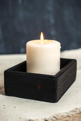 Black Bamboo Tray