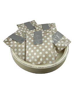 Treat Bags  Dots Gray 5x7in (Pack of 100)