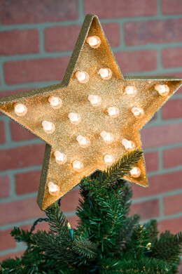 Marque Star Tree Topper, Plug In