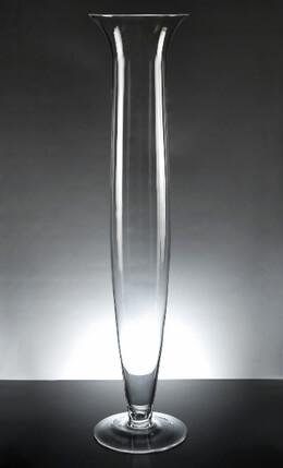 Trumpet Glass Vase 23.5in