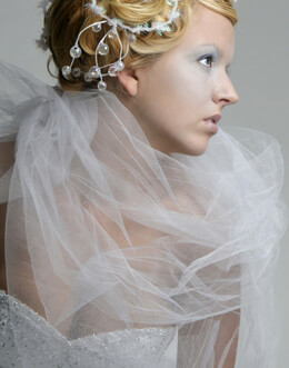 Tulle - Bridal Illusion - Glimmer Tulle- Nylon Netting- Organza