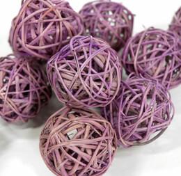 Twig Balls Lilac 2in (12 balls/pkg)