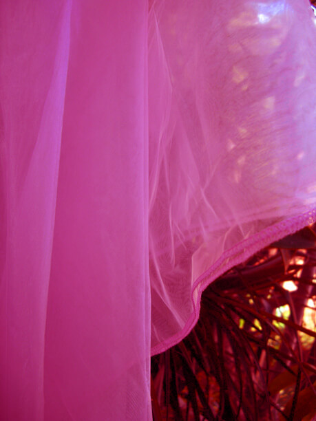 Organza Fabric Fuchsia 9ft