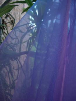 "Two Tone Organza Lavender 54"" x 3 yds"