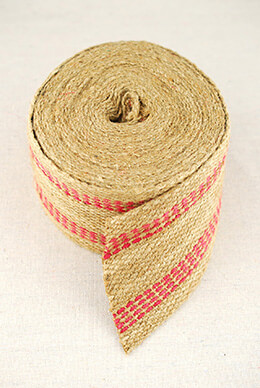 "Upholstery Webbing Red 3.5"" x 10yds"