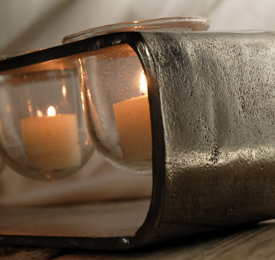Short Loft Candle Holder