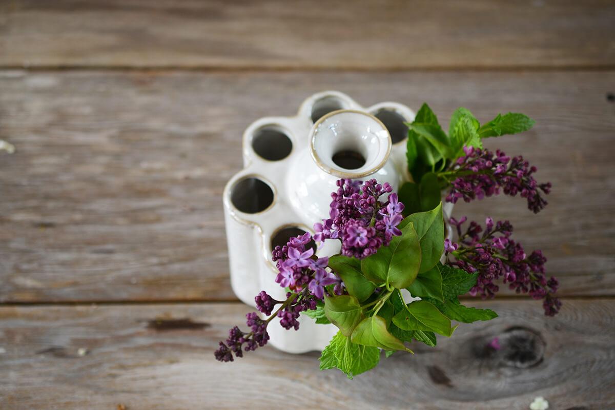 """Eden Ceramic 6"""" Vase"""