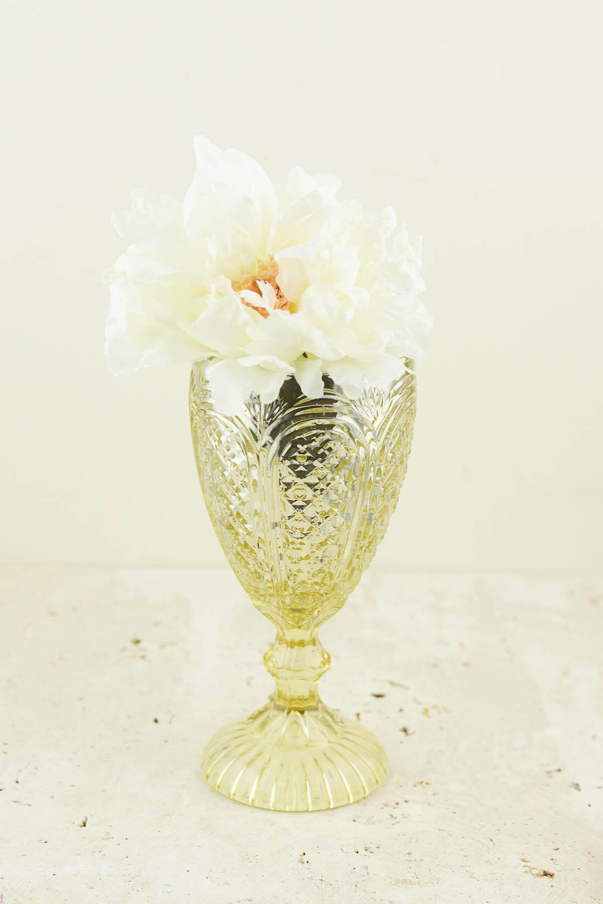 Kingston Gold Compote Vase