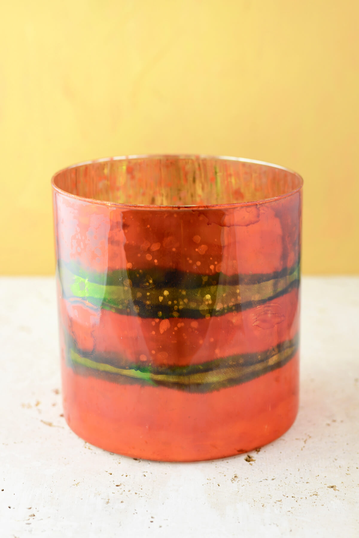 """Elixir Rose Votive Candleholder 6"""" Vase"""